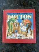 Vintage 1948 The Story Book Of Cotton By Maud And Miska Petersham Black Americana