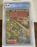 Iron Man 4 Cgc 9.4 White Pages Unicorn App Ad For Silver Surfer 1