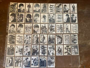 Vintage The Beatles 1964 Topps Series 1, 2 And 3 154 Cards Great Collection