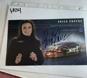 Signed Erica Enders 2006 Pro Stock Dodge Stratus Nhra Photo Card 6 X 10 N 1054