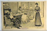 15 Antique 1906 Print Charles Dana Gibson Why She Didnand039t Get The Place Art