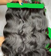 Stock Brazilian Raw Virgin Natrl Blk Dble Weft Human Hair 20 Bundle Deal 12-30