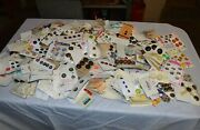 7 Pounds Vintage Clothing Buttons On Cards Nice Estate Lot Clothing Sewing
