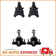 4pc Front Upper And Lower Ball Joint For Chevrolet Colorado Gmc Canyon