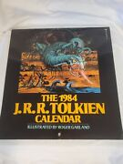 J.r.r. Tolkien 1984 Calendar Lord Of The Rings Illustrated By Roger Garland