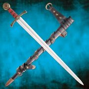 Great Sword Of St Casilda With Scabbard And Belt Xii - Xiii Ws501433