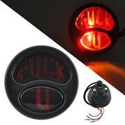 12v Black Retro Brake Stop Tail Light Fit For Ford Model A/aa Base 1928-1931