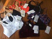 New Fabletics Bras Lot Of 8 Size Small / Xs