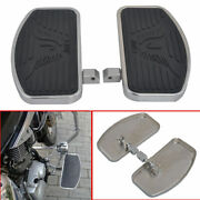 Motorcycle Front Driver Rider Footboards Floorboards For Honda Shadow 1997-2003