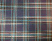 Longaberger Rare Retired Family Traditions Plaid Fabric - New - 5 Yards Uncut