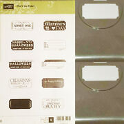 Stampin Up That's The Ticket Retired Stamps Set Punch Scrapbook Cardmaking Craft