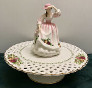 ❤2007 Royal Doulton Old Country Roses Pretty Ladies Figurine Spring Bloom Hn5028