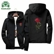 Brand Manand039s Spring Summer Thin Jacket High Quality Long Sleeve Zipper College