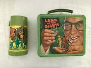 1968 Land Of The Giants Aladdin Metal Lunchbox And Thermos Great Cond Free Ship