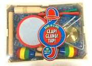 Melissa And Doug Band-in-a-box Clap Clang Tap 10-piece