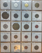 Miscellaneous Lot Of 20 Tokens- Opa Ration Belmont Saloon Wa Sales Tax Token