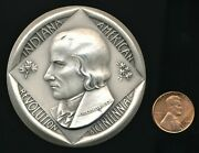 George Rogers Clark Indiana American Revolution Bicentennial .999 Silver Medal