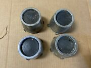 Gm 3956770 Wheel Center Cap With Retainer -- Lot Of 4 -- Used Oem