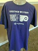 Adult Xl Philadelphia Flyers Together We Fight Hockey Fights Cancer -rally Towel