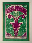 The Grateful Dead Country Joe And The Fish Dance Macabre Original Concert Poster
