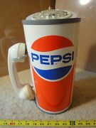 Vintage Pepsi Cola Advertising Rotary Telephone Pop Can. Paul Nelson Phone