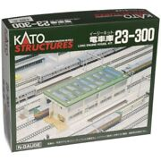 Kato N Scale Building/structure Kit Long Engine House