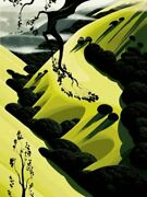 Eyvind Earl  High Country Valley  Serigraph On Paper