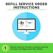 Refill Service For Hp 61 And 61xl Ink Cartridges Ch561wn/ch563wncc562wn/ch564wn