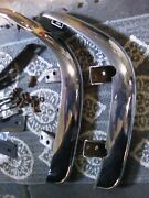 1961-62corvette Rear Bumpers Brkts And Bolts