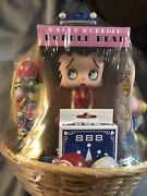 Bingo Prize Basket Funky Betty Boop Bobble Head, Toys, Popper, Playing Cards