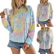 Womenand039s Printing Top Ladies Casual Hooded Sweater Long Sleeve T-shirts Tops Tee