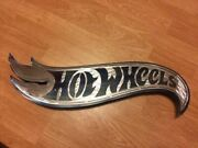 Stainless Steel Hot Wheels Sign