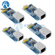 5pcs W5500 Ethernet Network Modules Tcp/ip 51/stm32 Spi Interface For Arduino