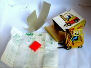 Dinky 404 Conveyancer Fork Lift Near Mint Model Leaflet And Pallet. Great Box.