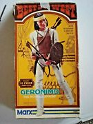 Marx Geronimo-1863 And Johnny West-2062 Action Figures And Accessories