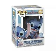 Funko Pop Stitch On Tricycle Funko Shop Exclusive Confirmed Preorder