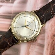 Vintage 1947 Gentand039s Omega Bumper 17 Jewels Swiss Serviced And Warranty