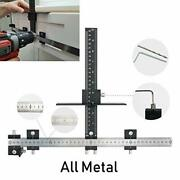 Cabinet Hardware Jig Drawer Knobs Pulls Template Tool For Drilling Holes On Wood