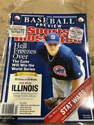 April 5, 2004 Kerry Wood Chicago Cubs Sports Illustrated No Label Illinois Flap