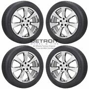20 Nissan Murano Pvd Bright Chrome Wheels Rims And Tires Oem Set 4 2012-2015...