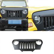 Fit For Jeep Wrangler Tj 1997-2006 Abs Black Front Little Bird Grille Grill Trim
