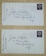 Eastview N.y. Post Office Discontinued, Signed By Post Master