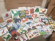 Lot Of 5 Eric Carle Picture/board Books For Childrenand039s Kid Toddler Random Mix