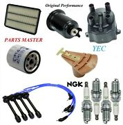 Tune Up Kit Filters Cap Wire Sparks Plug For Toyota T100 L4 2.7l 1994-1997