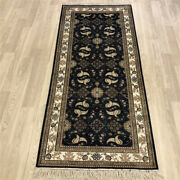 Yilong 2.5and039x6and039 Handkbotted Silk Long Hallway Rug Runner Home Decor Carpet Y236b
