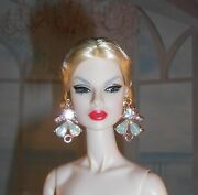 Handmade Earrings Jewelry For Fashion Royalty And Barbie Silkstone Dolls 5001