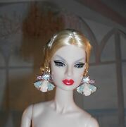 Handmade Earrings Jewelry For Fashion Royalty And Barbie Silkstone Dolls 5002