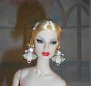 Handmade Earrings Jewelry For Fashion Royalty And Barbie Silkstone Dolls 5003