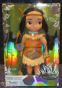 Disney Animators' Collection Special Edition 16 Toddler Doll Pocahontas New