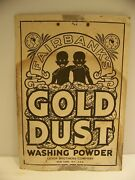 Fairbankand039s Gold Dust Washing Powder Vintage Advertisement Lever Brothers